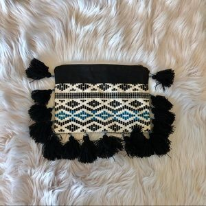 Fringe and tassel inspired purse